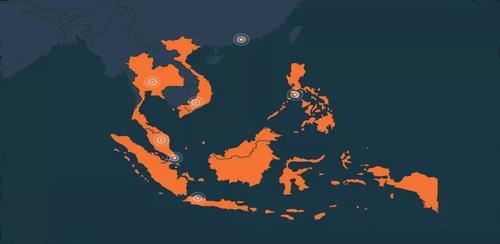 中国互联网巨头割据东南亚