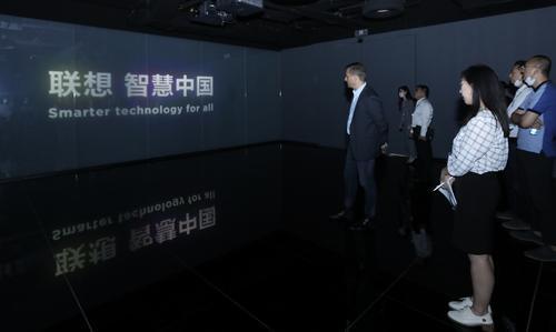 联想科技产业行——大众集团走进联想:智慧科技赋能汽车行业智能化变革