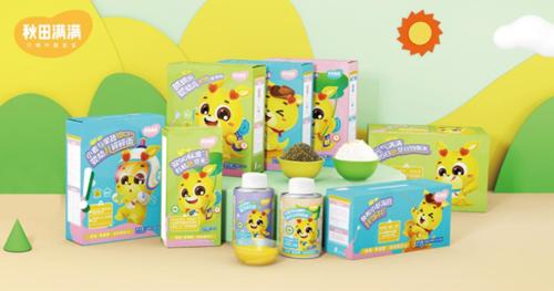 婴童食品品牌秋田满满融资千万美元 季度销售额破亿